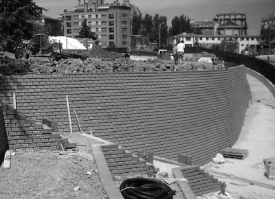 Urbanización interior Club tenis, Pamplona